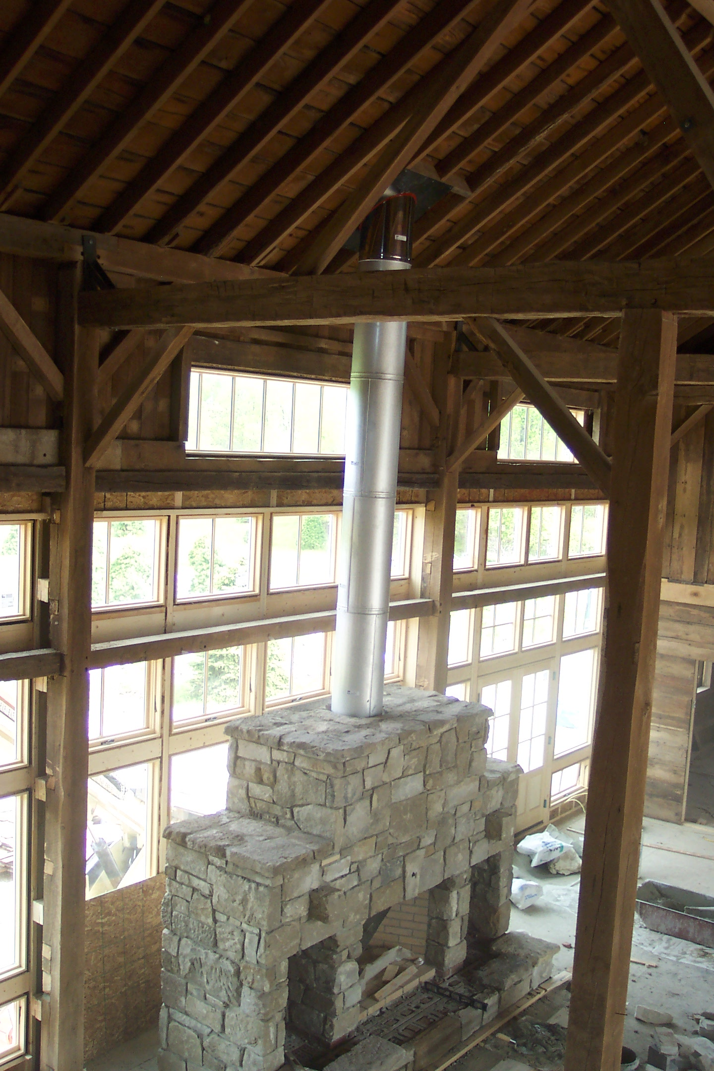 Interior of the Bank Barn