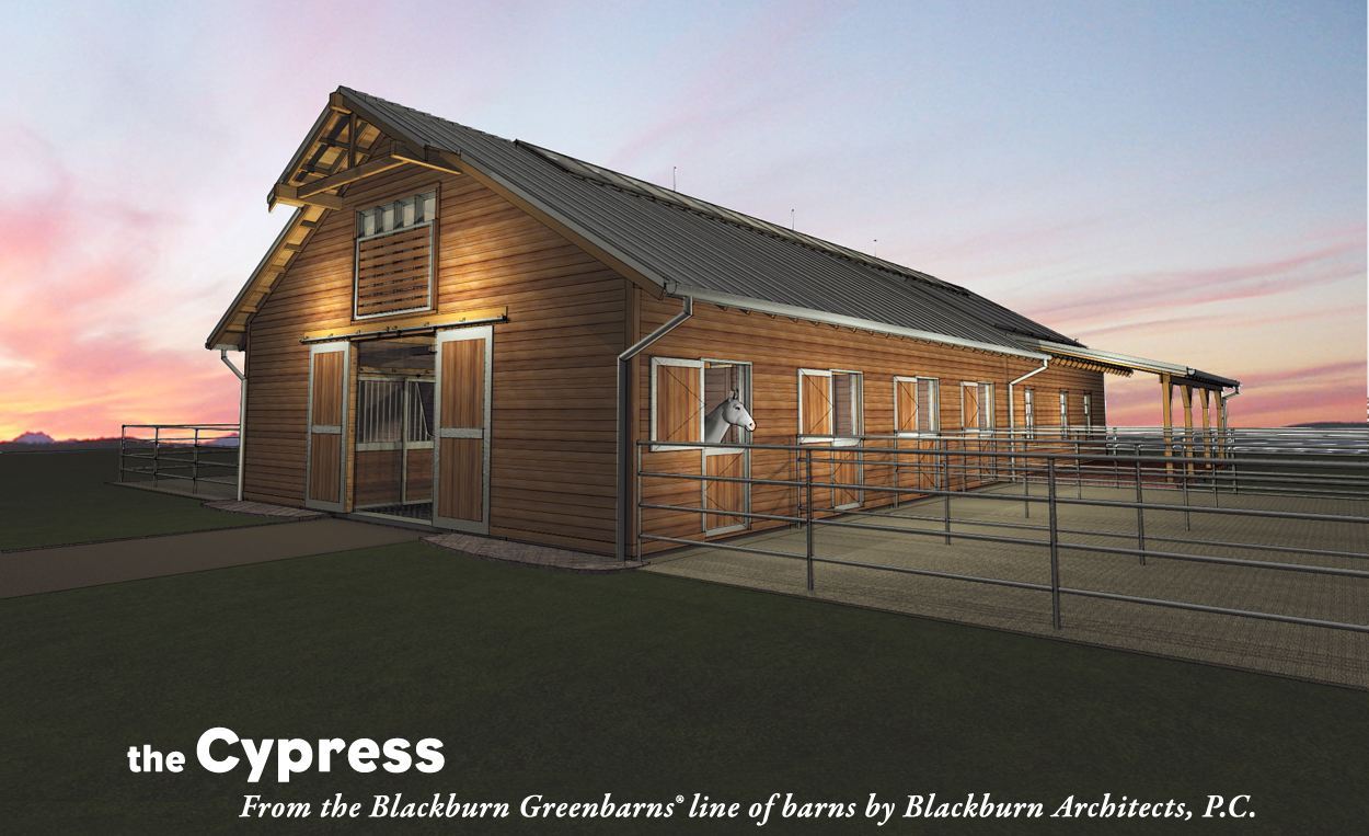 print share posted in equestrian news sustainable design tagged barn - Horse Barn Design Ideas