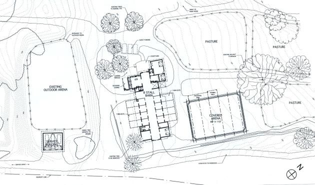 Horse barn plans pdf kania blog for Horse stable floor plans